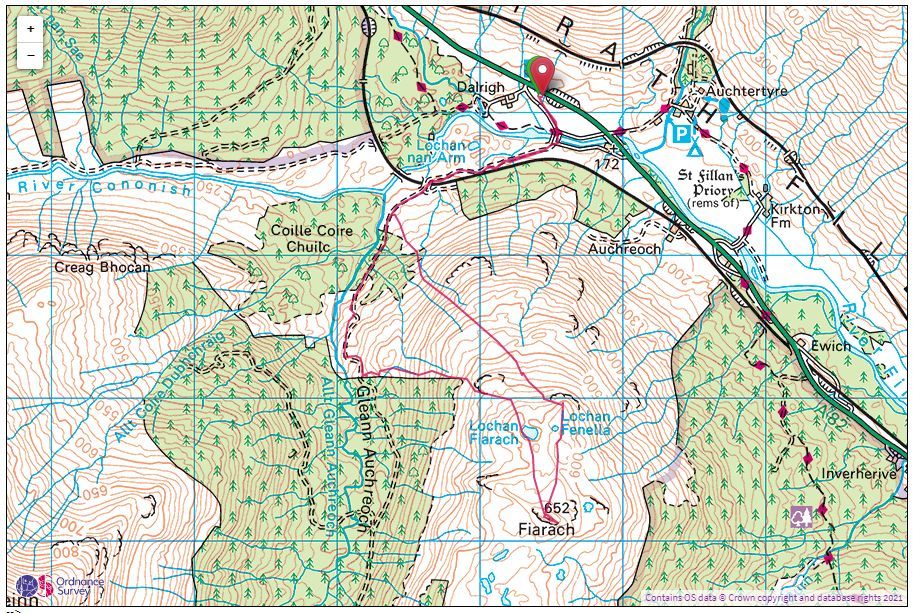 Ordnance Survey Map Example